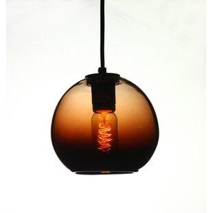 Vintage 1-Light Pendant by Viz Glass