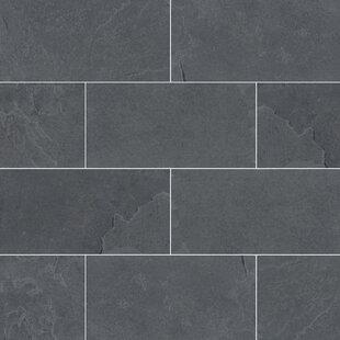 Montauk 3 X 6 Slate Subway Tile In Gray