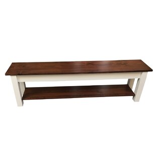 Wood Bench by Ezekiel and Stearns