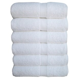 Lyme 6 Piece 100% Turkish Cotton Hand Towel Set (Set of 6)