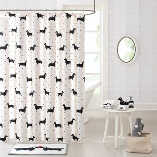 Savings Cotton Printed Shower Curtain By East Urban Home