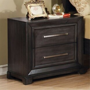 Aramis 2 Drawer Nightstand