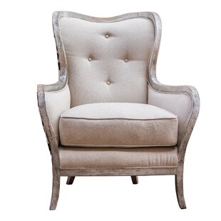 Mireya Wingback Chair by One Allium Way