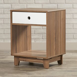 Deforest End Table with Storage by Ebern Designs
