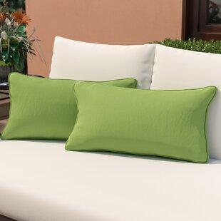 McMillian Indoor/Outdoor Lumbar Pillow (Set of 2)
