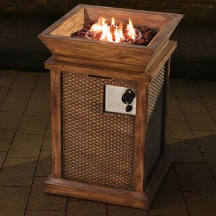 Sunjoy Wausau Faux Wicker and Wood LP Fir..