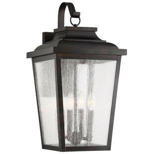 Mayhugh 4-Light Outdoor Wall Lantern by T..