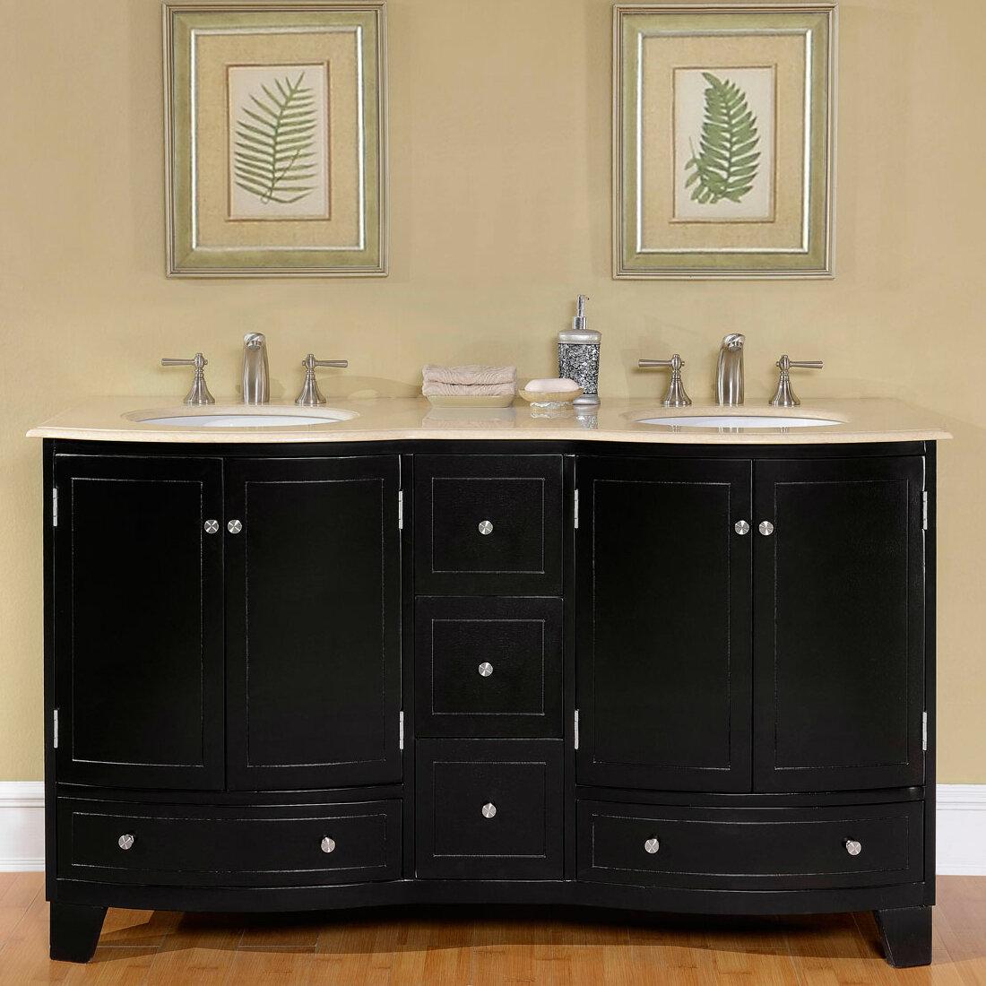 Kyng 60 Double Bathroom Vanity Set