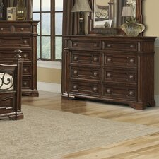 Harris 8 Drawer Standard Dresser by Klaussner Furniture