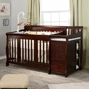 lighting baby with concept espresso and futuristic table cribs tables changing home combo crib within your