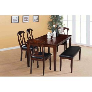 Boswell Extendable Solid Wood Dining Table No Copoun