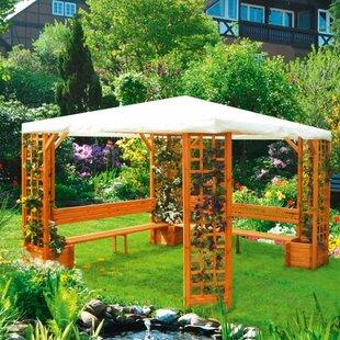 Wooden Gazebo Kit   Wayfair co uk