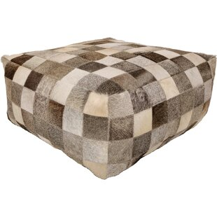 Foundry Select Aranda Leather Pouf