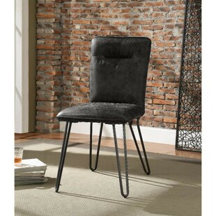 Lima Hairpin Legs Upholstered Dining Chair (Set of 2)