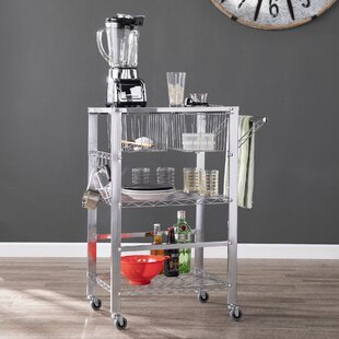 Taft Avenue Metal Bar Cart