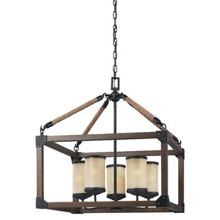 17 Stories Cheyanne 5-Light Lantern Pendant