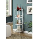 Edwin 4 Tier Folding Etagere Bookcase by Zipcode Design™