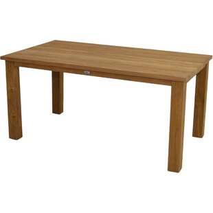 Manston Teak Dining Table By Sol 72 Outdoor