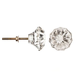 Glass Cut Crystal Knob