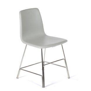 dCOR design The Ekero Genuine Leather Upholstered Dining Chair