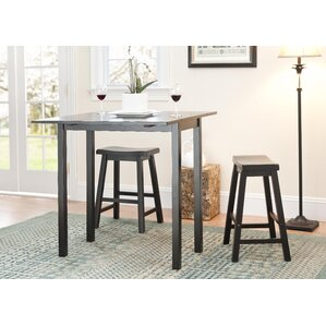 3 Piece Pub Table Set by Safavieh