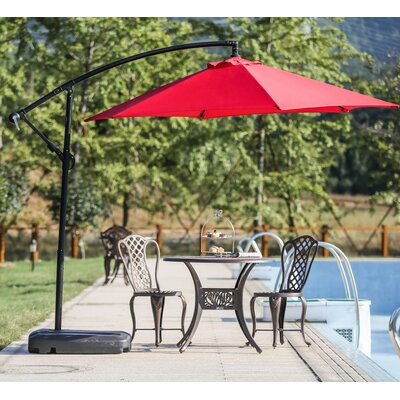 Amaris 9 Cantilever Umbrella by Zipcode Design Great price
