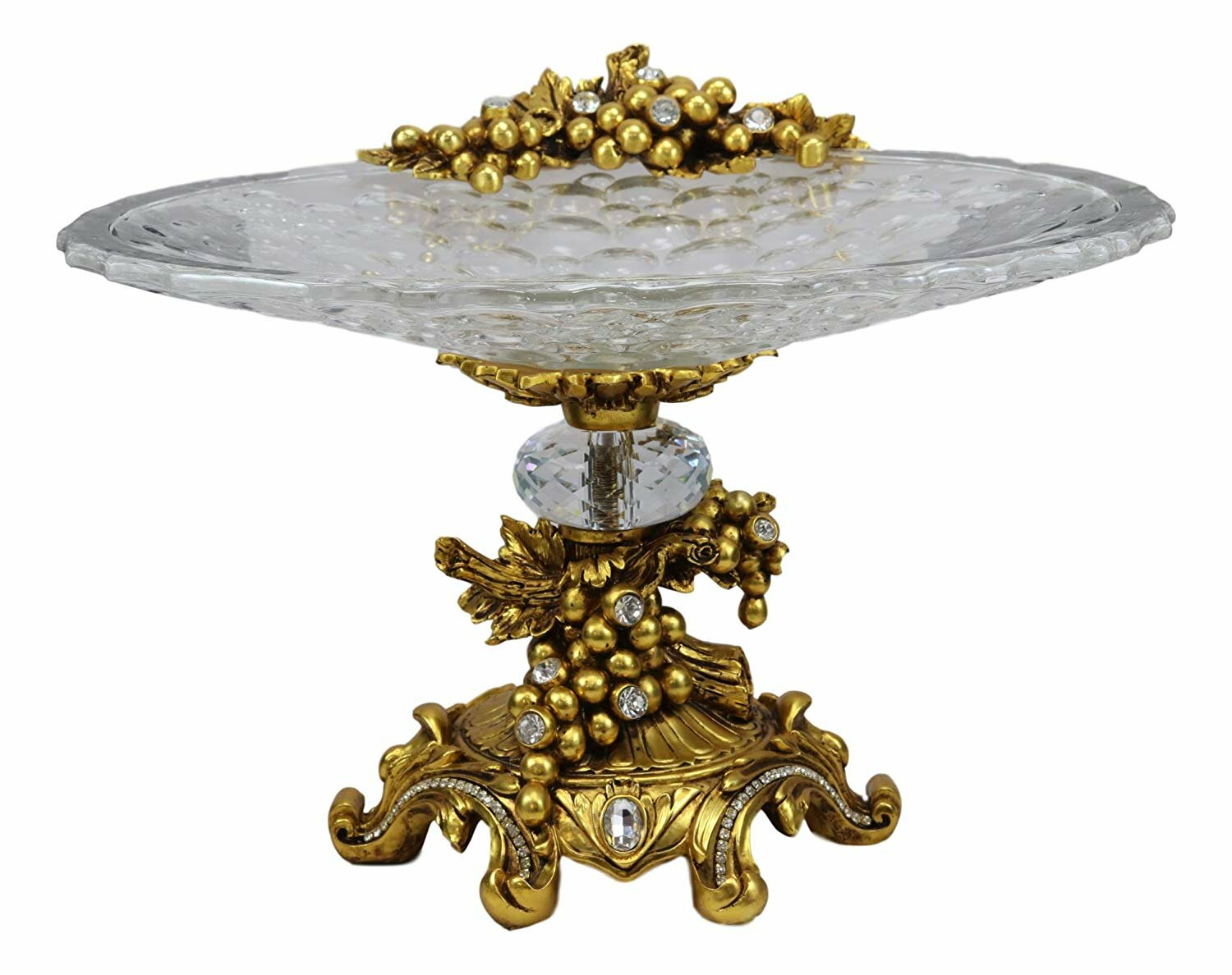 Chi Vintage Antique Baroque Cake Stand