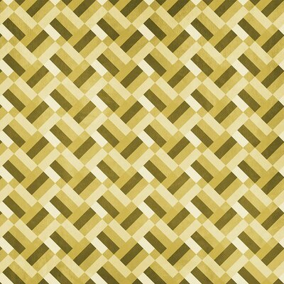 Coordonne Square Wallpaper Roll Colour: Yellow
