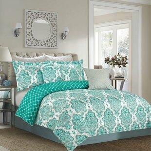 Prompton 7 Piece Reversible Comforter Set