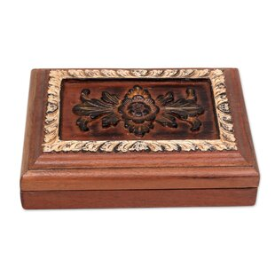 Check Prices Wood Jewelry Box By Bloomsbury Market
