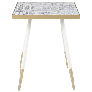 Terpstra End Table by Bungalow Rose