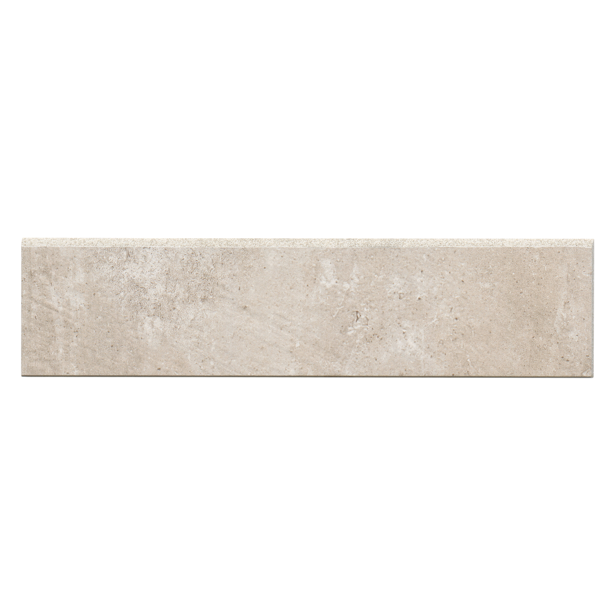 Bedrosians 12 X 3 Porcelain Bullnose Tile Trim In Tan Wayfair