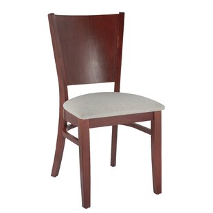Winston Side Chair in Microfiber - Cream (Set of 2) Benkel Seating
