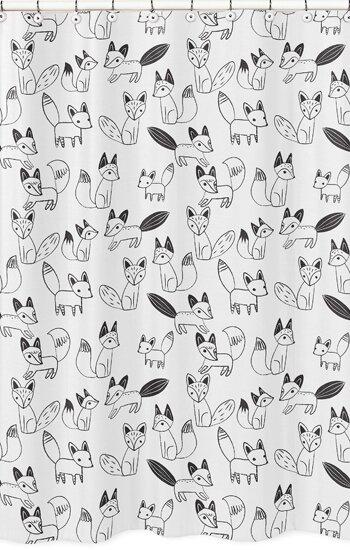 Sweet Jojo Designs Fox Shower Curtain