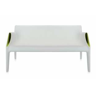 Magic Hole Plastic Garden Bench by Kartell