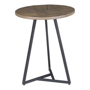 Manan End Table by Union Rustic