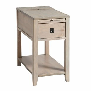 Felicia End Table with Storage by Loon Peak