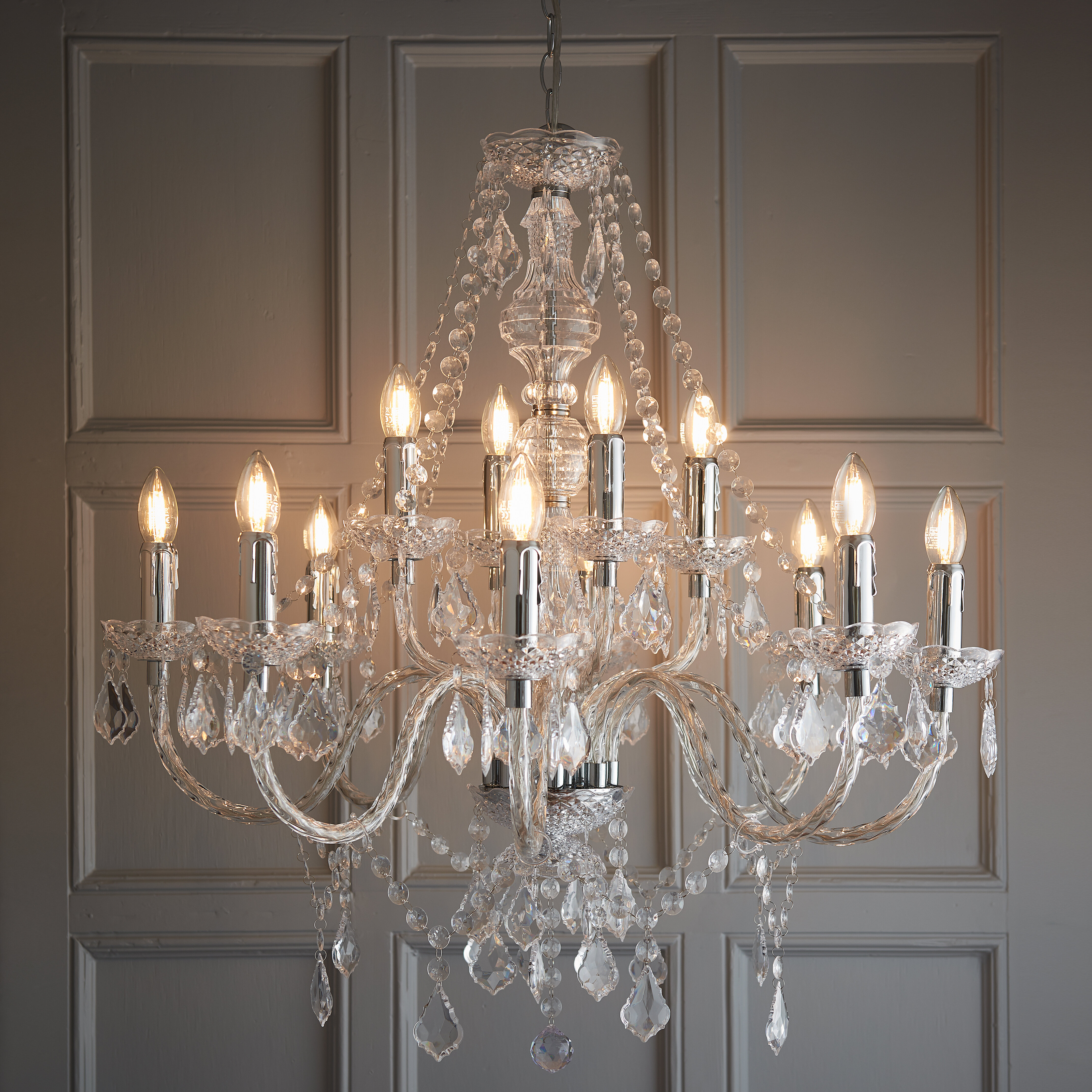 Endon Lighting Classy Candle Style Chandelier & Reviews