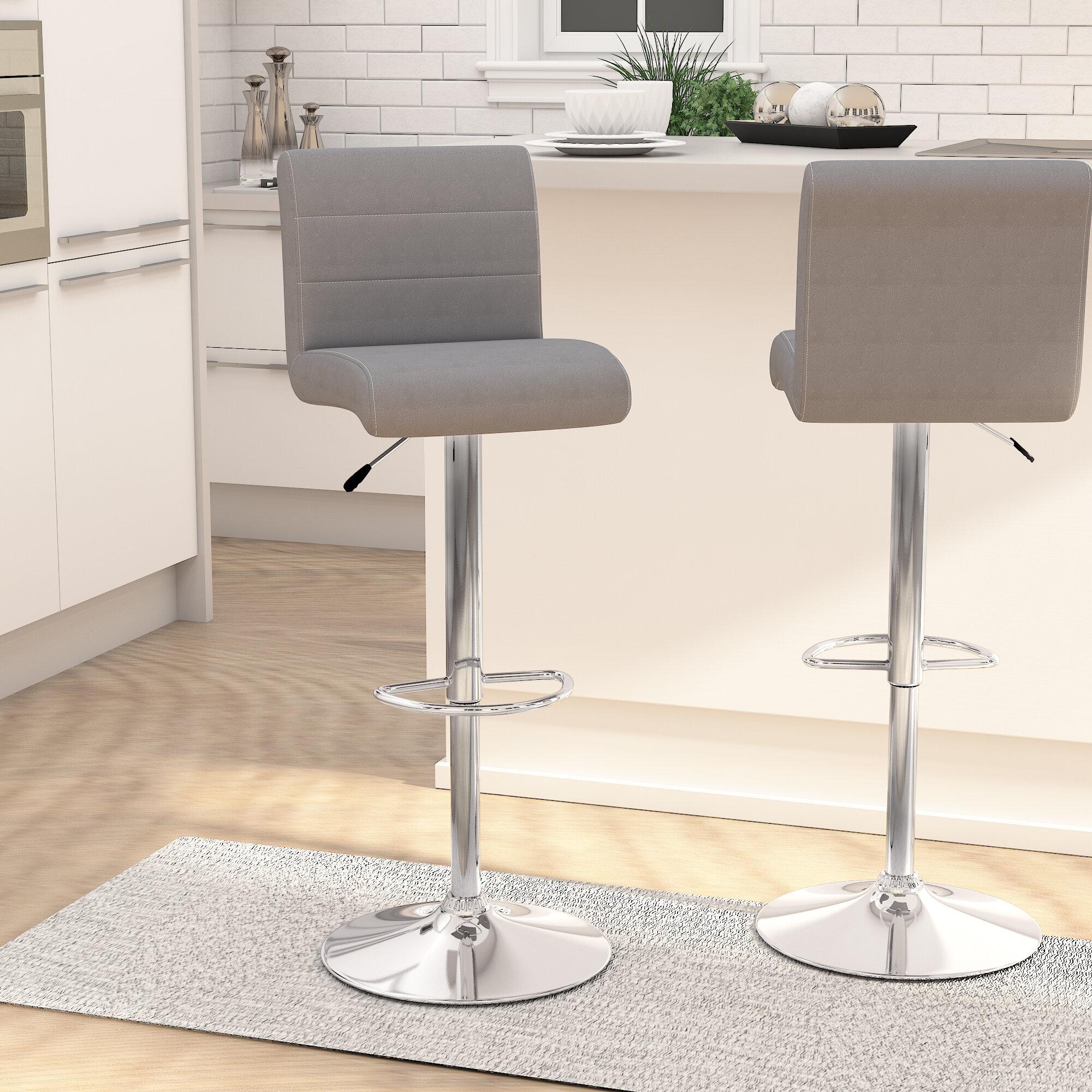 Swell Nusbaum Adjustable Height Swivel Bar Stool Creativecarmelina Interior Chair Design Creativecarmelinacom