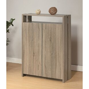 Best Choices Wooden Entryway Shoe Storage Cabinet By Latitude Run