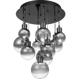 Orren Ellis Zakrzewski LED Cluster Pendant