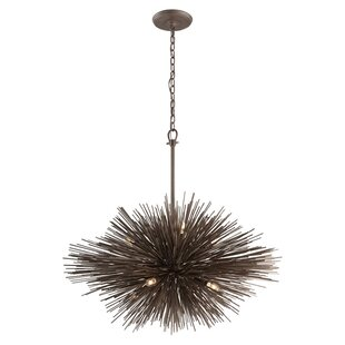 Brayden Studio Westerfield 8-Light Sputnik Chandelier
