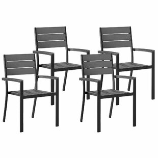 Zaina Stacking Garden Chair (Set Of 4) By Sol 72 Outdoor
