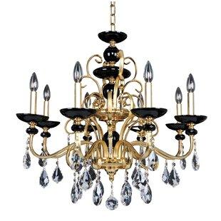 Allegri by Kalco Lighting Cimarosa 8-Light Candle Style Chandelier