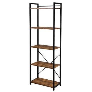 5 Shelf Storage Organizer Etagere Bookcase by LENTIA SKU:BB798406 Details