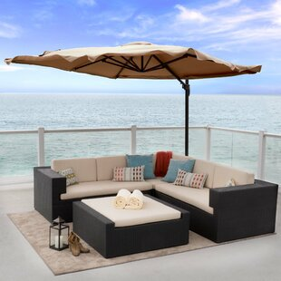 Home Loft Concepts Yuma 10' Cantilever Umbrella