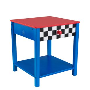 Race Car 1 Drawer Nightstand by KidKraft