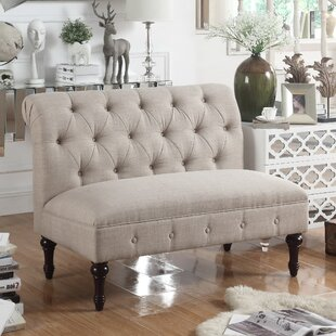 Bargain Lauryn Tufted Chesterfield Loveseat by Ophelia & Co. Reviews (2019) & Buyer's Guide