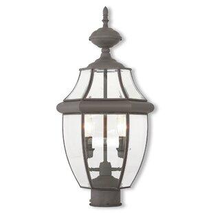 Gustavson 2-Light Lantern Head by Three Posts