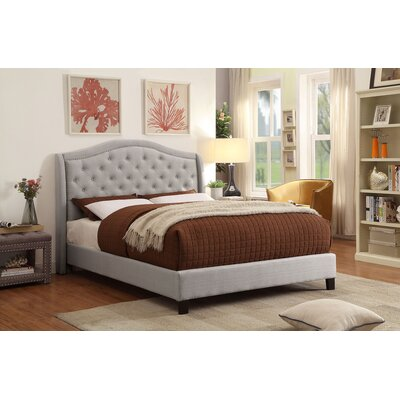 !nspire King Platform Bed  Color: Gray